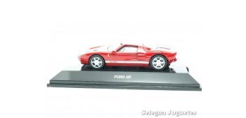 Ford GT rojo escala 1/64 Auto Art coche miniatura metal Auto Art