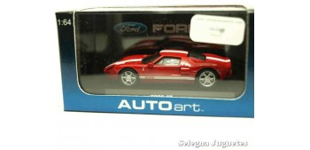 coche miniatura Ford GT rojo escala 1/64 Auto Art coche