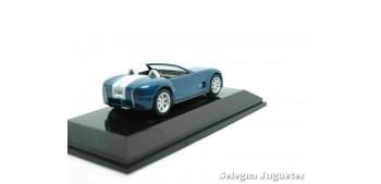 Ford Shelby Cobra concept azul escala 1/64 Auto Art coche miniatura metal