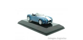 Ford Shelby Cobra concept azul escala 1/64 Auto Art coche