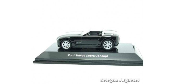 Ford Shelby Cobra negro escala 1/64 Auto art coche miniatura metal