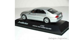 miniature car NISSAN 350Z NISMO SILVER - 1/43 - J-COLLECTION