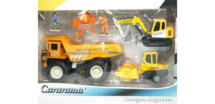 Lote 01 Maquinas Construcciones y Obras Cararama Cararama