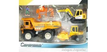 Lote 01 Maquinas Construcciones y Obras Cararama