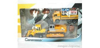 Lote 02 Maquinas Construcciones y Obras Cararama Cararama