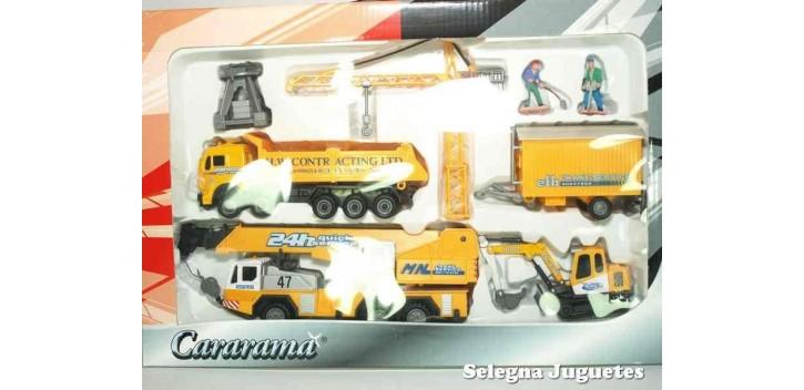 Lote 04 Maquinas Construcciones y Obras Cararama