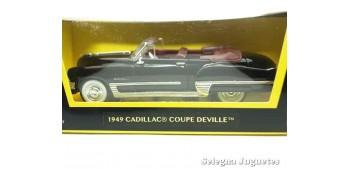 Cadillac Coupe de Ville 1949 1/43 Negro Lucky Die Cast coche a escala