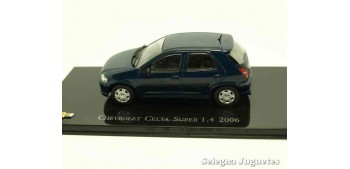 Chevrolet Celta Super 1.4 2006 escala 1/43 Ixo Altaya
