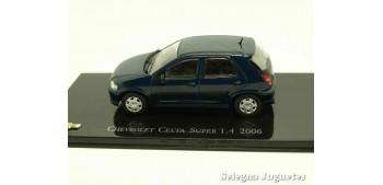 miniature car Chevrolet Celta Super 1.4 2006 scale 1:43 Ixo