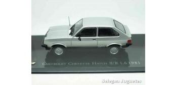 coche miniatura Chevrolet Chevette Hatch s-r 1.6 1981 escala