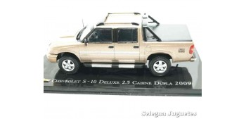 miniature car Chevrolet S-10 Deluxe 2.5 Cabine Dupla 2009 scale