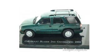 miniature car Chevrolet Blazer 2nd Generation 2002 scale 1:43