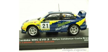 miniature car Seat Cordoba Wrc Evo - Catalunya Cañellas escala