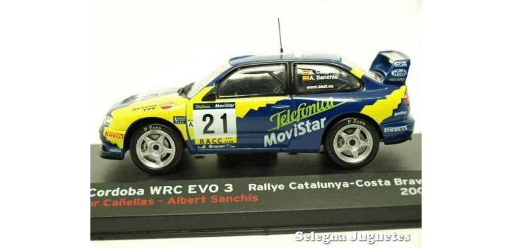 Seat Cordoba Wrc Evo - Catalunya Cañellas escala 1/43 Ixo Ixo