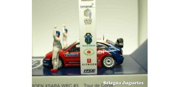 miniature car Citroen Xsara Wrc Tour de Corse Loeb Podium 1/43