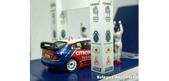 coche miniatura Citroen Xsara Wrc Tour de Corse Loeb Podium
