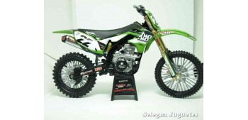 miniature motorcycle Kawasaki KX 450 F Chad Reed 1:12 New Ray