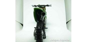 moto miniatura Kawasaki KX 450 F Chad Reed 1/12 New ray