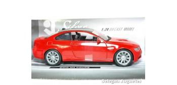 coche miniatura Bmw M3 coupe rojo 1/24 Xtrem
