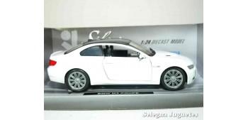 coche miniatura Bmw M3 coupe blanco 1/24 Xtrem