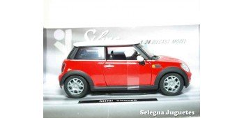 miniature car Mini Cooper Red 1:24 Xtrem