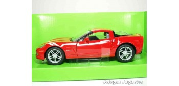 miniature car Chevrolet Corvette Z06 2007 1:24 Lucky Die Cast