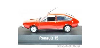 miniature car Renault 15 1976 scale 1:43 Norev