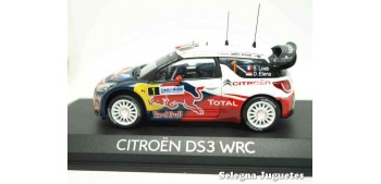 miniature car Citroen Ds3 WRC Loeb - Elena 2012 1:43 Norev