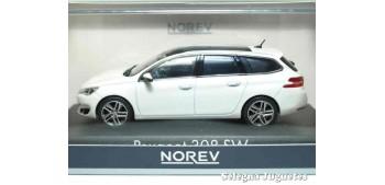 coche miniatura Peugeot 308 SW escala 1/43 Norev