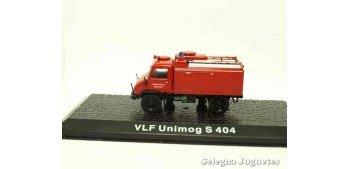 VLF Unimog S 404 (vitrina) - Bomberos - 1/72