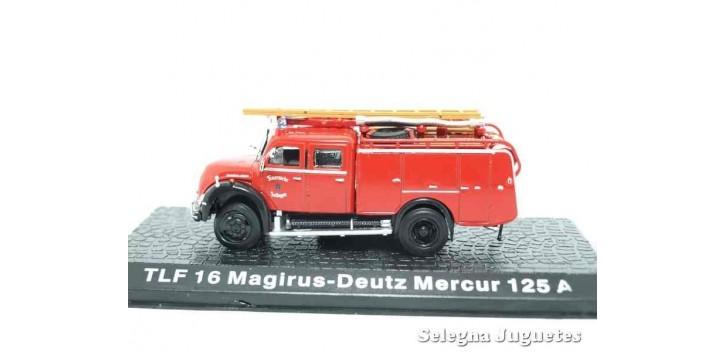 TLF 16 Magirus - Deutz Mercur 125 A (vitrina) - Bomberos - 1/72