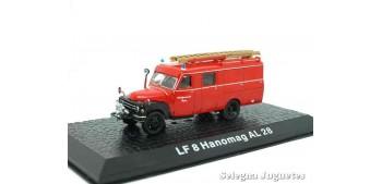 LF 8 Hanomag AL 28 (vitrina)  - Bomberos - 1/72