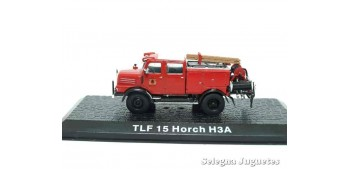 miniature truck TLF 15 Horch H3A - firefighters - 1/72