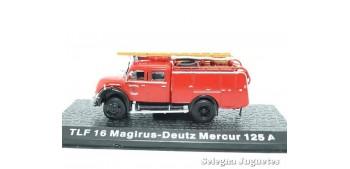 TLF 16 Magirus - Deutz Mercur 125 A - Bomberos - 1/72 Dea, Deagostini
