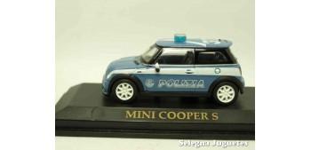 maquetas de coches Mini Cooper S Polizia (Policia) Italia