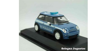 MINI COOPER S POLIZIA ITALIA - 1/43 YAT MING COCHE ESCALA