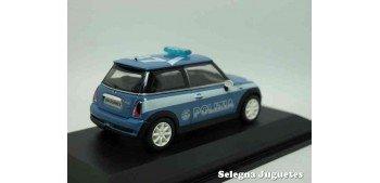 Mini Cooper S Polizia (Policia) Italia escala 1/43 Yat Ming coche metal miniatura