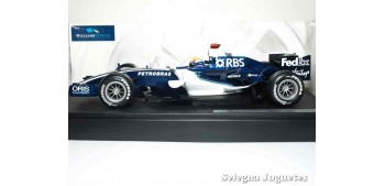 miniature car WILLIAMS FW28 - M. WEBBER - 1/18 HOT WHEELS