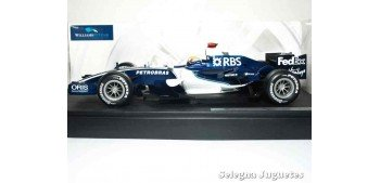 coche miniatura WILLIAMS FW28 - M. WEBBER - 1/18 HOT WHEELS