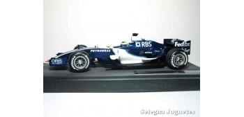 miniature car WILLIAMS TEAM DEBUT NICO ROSBERG 12/03/06 FORMULA