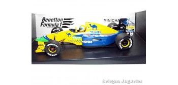 coche miniatura Benetton Ford B191 Moreno escala 1/18