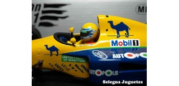 Benetton Ford B191 Moreno escala 1/18 Minichamps coche metal
