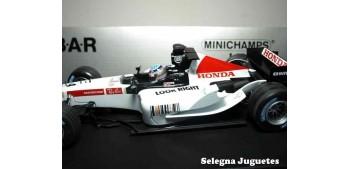 Bar Honda 007 T. SATO 2005 escala 1/18 Minichamps coche formula 1 metal miniatura