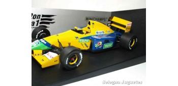 miniature car Benetton Ford B191 Michael Schumacher 1/18