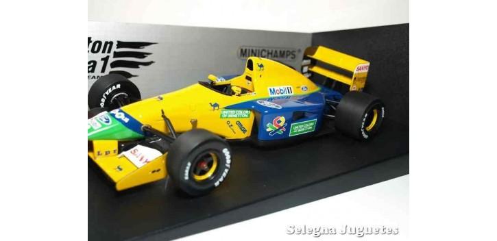 coche miniatura Benetton Ford B191 Michael Schumacher 1/18