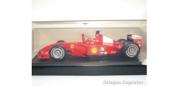 coche miniatura Ferrari Campeón del Mundo 2001 Michael