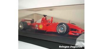 miniature car Ferrari Campeón del Mundo 2001 Michael Schumacher