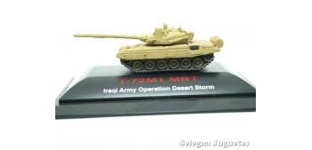miniature tank T-72M1 MBT w/KMT-5 1/144