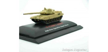 T-72M1 MBT w/KMT-5 1/144 tanque