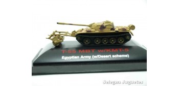 T-55 MBT w/KMT-5 1/144